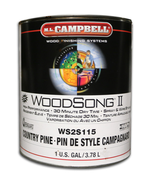 ML Campbell Country Pine Woodsong II 10% Stain Gallon