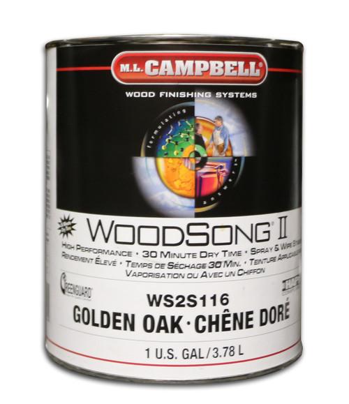 ML Campbell Golden Oak Woodsong II 10% Stain Gallon