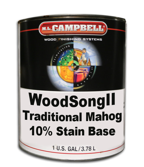ML Campbell Traditional Mahog Woodsong II 10% Stain
