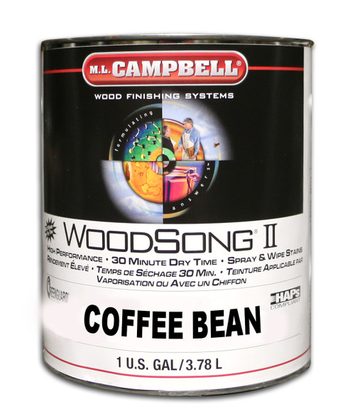 ML Campbell Coffee Bean Woodsong II 10% Stain Gal