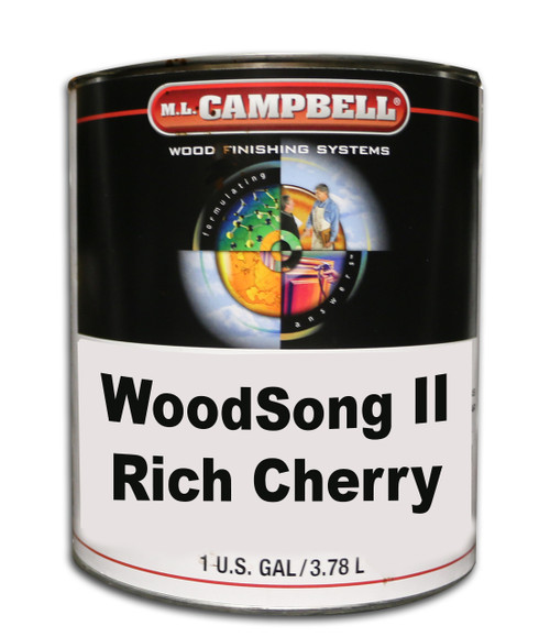 ML Campbell Rich Cherry Woodsong II  Gallon