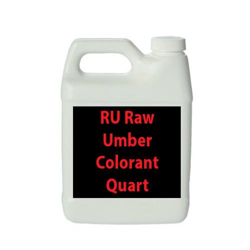 Professional Wood Finish RU Raw Umber Colorant Quart