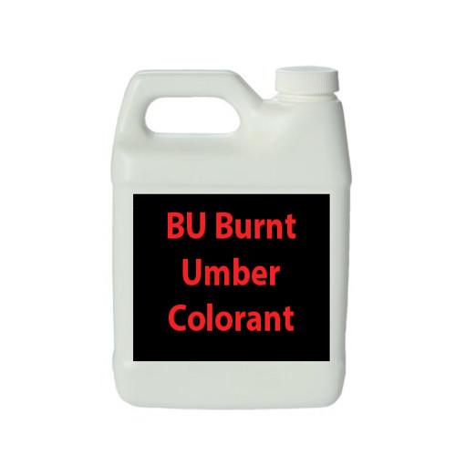 BU Burnt Umber Colorant Quart