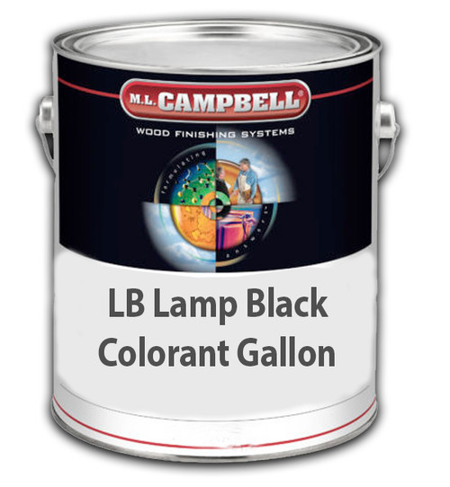 Professional Wood Finish LB Lamp Black Colorant Gallon