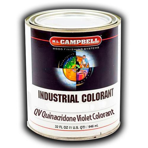 QV Quinacridone Violet Colorant Quart ML Campbell Wood Finishing