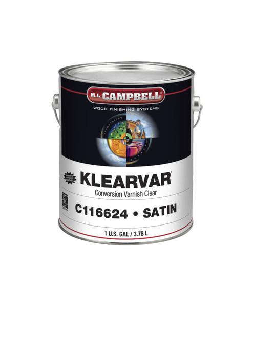 ML Campbell Klearvar Satin 55 Gallons W/Agitator Drum
