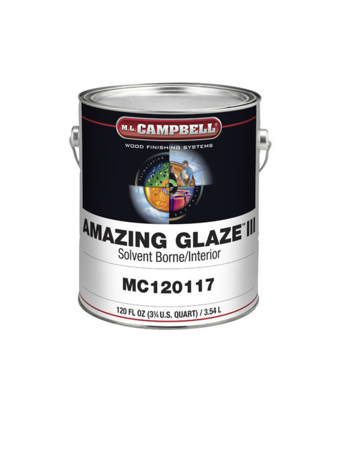 ML Campbell Amazing Glaze III Clear Tint Base Gallon