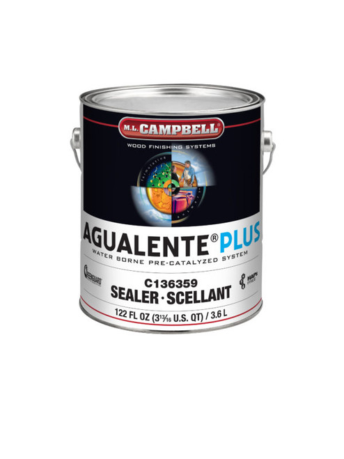 ML Campbell Agualente Plus Clear Dull Precat 5 Gallons
