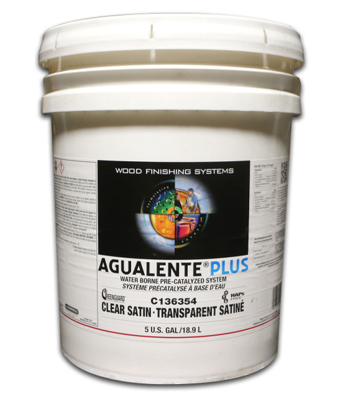 ML Campbell Agualente Plus Clear Satin Precat 5 Gallons