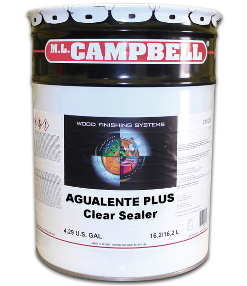 ML Campbell Agualente Plus Clear Sealer 5 Gallons