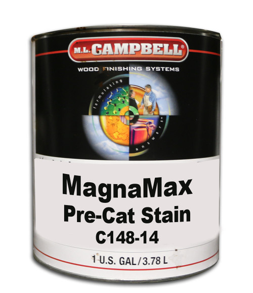 Magnamax Clear Pre-Catalyzed Lacquer Satin Gallon ML Campbell Wood Finishing