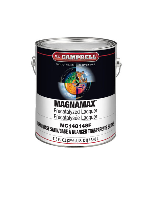 ML Campbell Magnamax Clear Pre-cat Lacquer Satin 5 Gallons