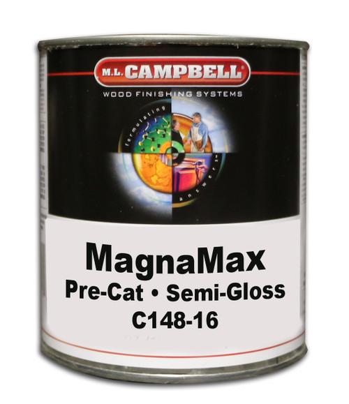 ML Campbell Magnamax Clear Pre-cat Lacquer Semi-Gloss Gallon