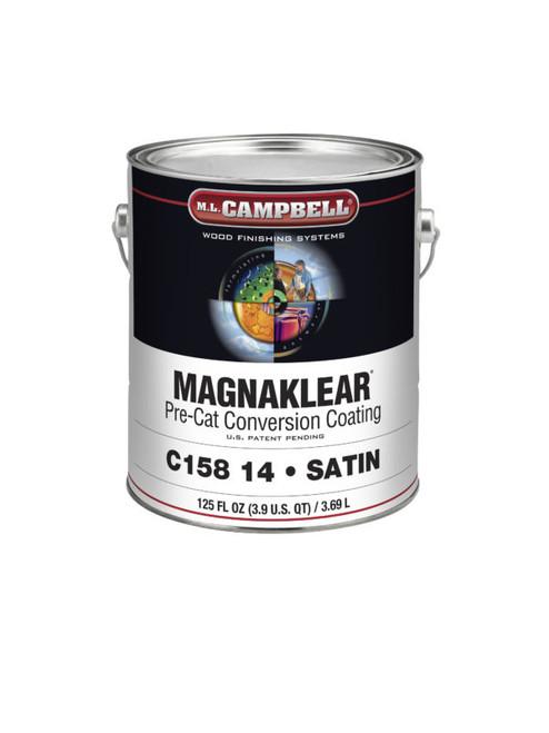 ML Campbell Magnaklear Clear  Pre-cat Satin Gallon