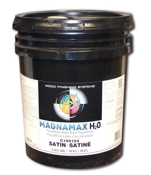ML Campbell MagnaMax H2O Pre-Cat Waterborne Polyurethane Satin 5 Gallons