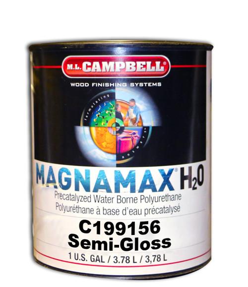 ML Campbell MagnaMax H2O Pre-Cat Waterborne Polyurethane Semi-Gloss Gallon