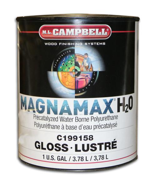 ML Campbell MagnaMax H2O Pre-Cat Waterborne Polyurethane Gloss Gallon