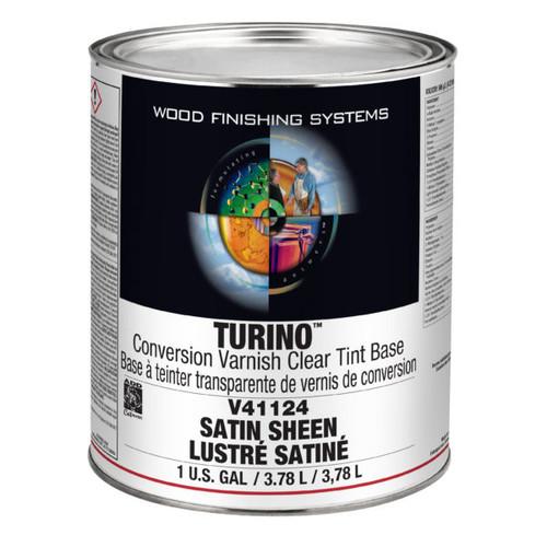 ML Campbell Turino Clear Tint Base Conversion Varnish Satin 5 Gallons