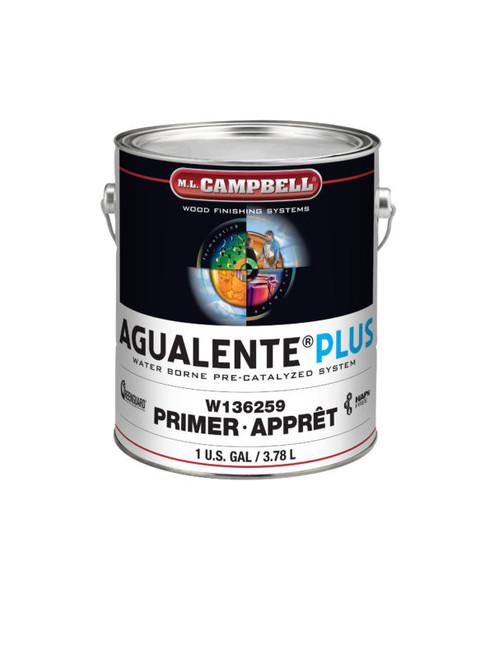 ML Campbell Agualente Plus White Satin Pre-cat Gallon