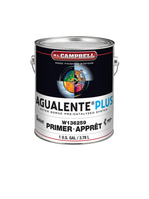 ML Campbell Agualente Plus White Satin Pre-cat 5 Gallons