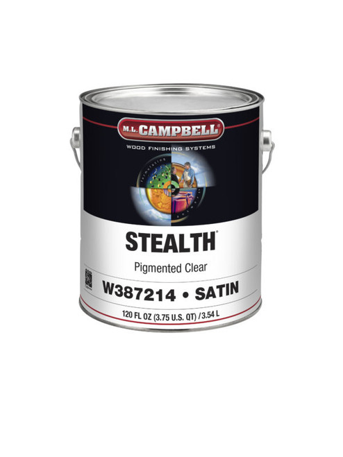 ML Campbell Stealth White/Opaque Conversion Varnish Satin Gallon
