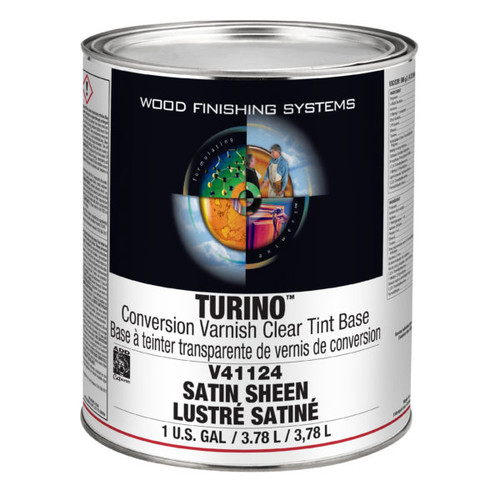 ML Campbell Turino White/ Opaque Conversion Varnish Satin 5 Gallons