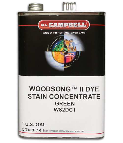ML Campbell Green Dye Concentrate Gallon