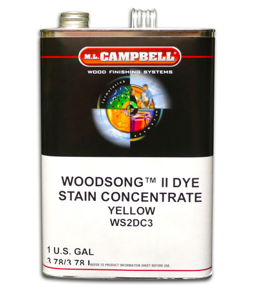 ML Campbell Yellow Dye Concentrate Gallon