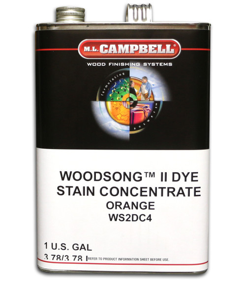ML Campbell Orange Dye Concentrate Gallon