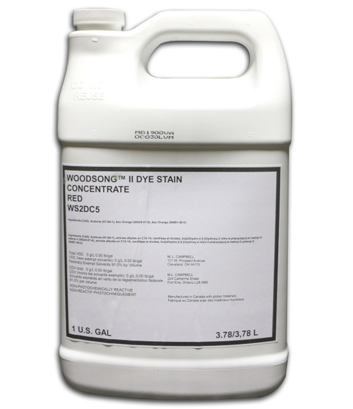 ML Campbell Red Dye Concentrate Gallon