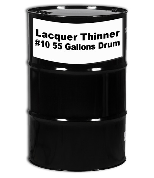 Professional Wood Finish Lacquer Thinner #10 (LT-1610) 55 Gallons Drum