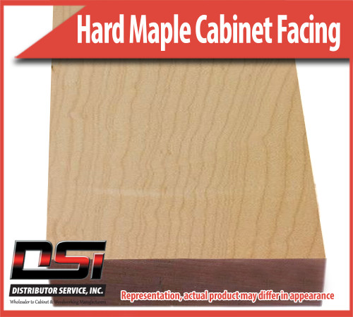 Domestic Hardwood Lumber Hard Maple 3 X 96 Cabinet Facing