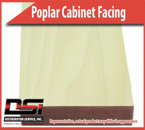 Domestic Hardwood Lumber Poplar 2-1/2 X 96 Cabinet Facing