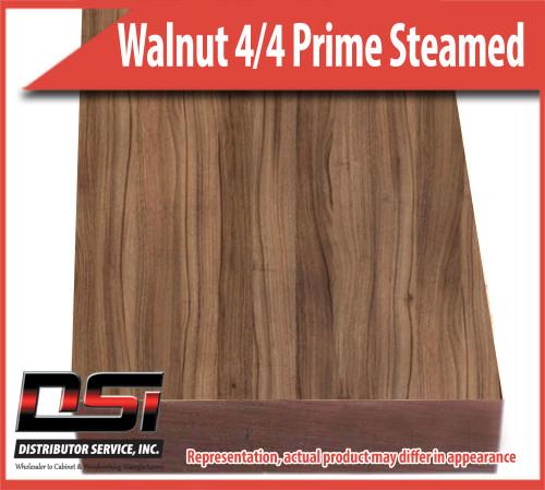 "Domestic Hardwood Lumber Walnut 4/4 Prime Steamed 15/16"" 9'-10'"