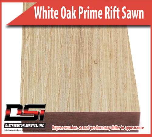 "Domestic Hardwood Lumber White Oak Prime Rift Sawn 15/16"" 8'"