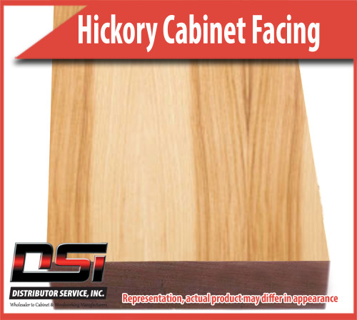 Domestic Hardwood Lumber Hickory 2 X 96 Cabinet Facing