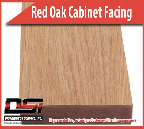 Domestic Hardwood Lumber Red Oak 1-1/2 X 96 Cabinet Facing