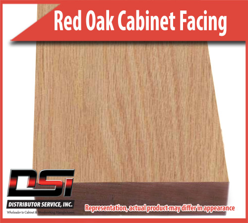 Domestic Hardwood Lumber Red Oak 1-3/4 X 96 Cabinet Facing