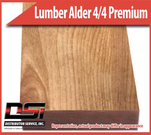 "Domestic Hardwood Lumber Alder 5/4 Premium Frame 1 3/16"" 10'"