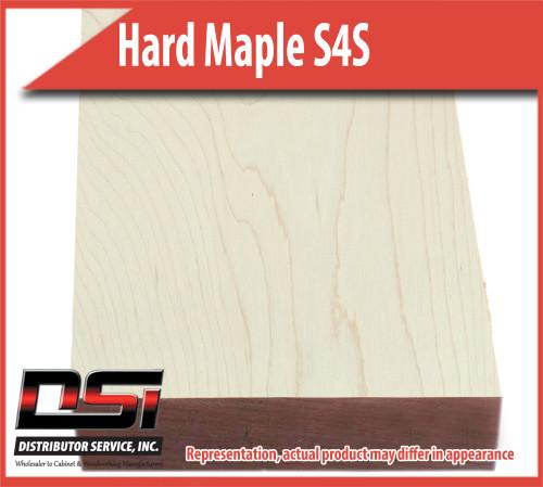 "Domestic Hardwood Lumber Hard Maple S4S 3/4"" X 7 1/4"" X 10'"