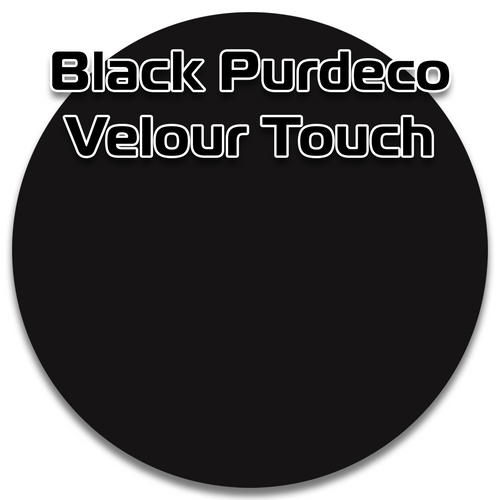 BlackPurdecoG2S MDF Velour Touch extreme mattefinishessurface is silky to the touch, anti-fingerprintand scratch resistant.