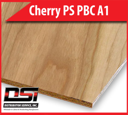 Cherry Plywood PS PBC A1 - Domestic Plain Sliced, Particle Board Core Hardwood Plywood