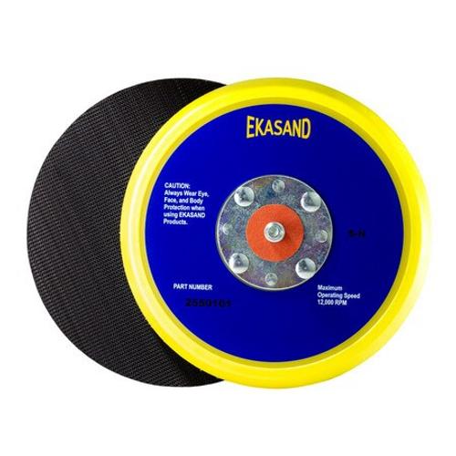 Ekasand Disc Pad 5 x NH L P 4-Rivet Hook Face for Uneevel