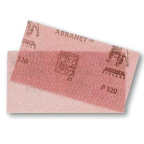 """Abranet Grip Sheet 320 Grit 50 Sheets/Pk 3"""" x 4"""" MK-9A-129-320"""