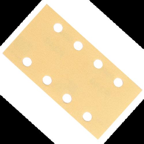"Mirka Bulldog GOLD 3"" x 5"" Grip 8H 180 Grit, 50 Sheets/Bx MK-23-688-180"