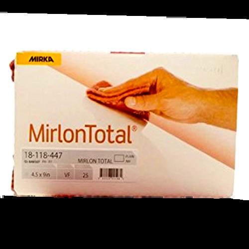 "Mirlon Scuff Pad Red 25 Pads/Pack 4-1/2"" x 9"" MK-18-118-447"