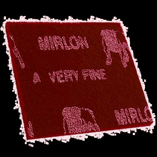 """Mirlon Scuff Pad Maroon 20 Pads/Pack 6"""" x 9"""" MK-18-111-447"""