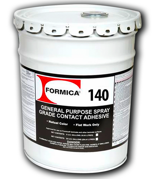 Formica E/F Nat Brush/Roll Contact Adhesive 5 Gallons F-140-05