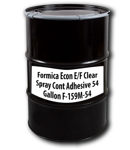 Formica Econ E/F Clear Spray Cont Adhesive 54 Gallons F-159M-54