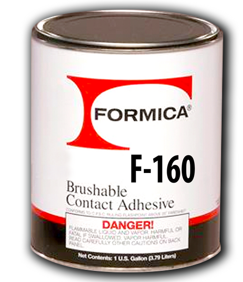 Formica Water Base Brush/Roll Adhesive Prem 1 Gallon F-160-01